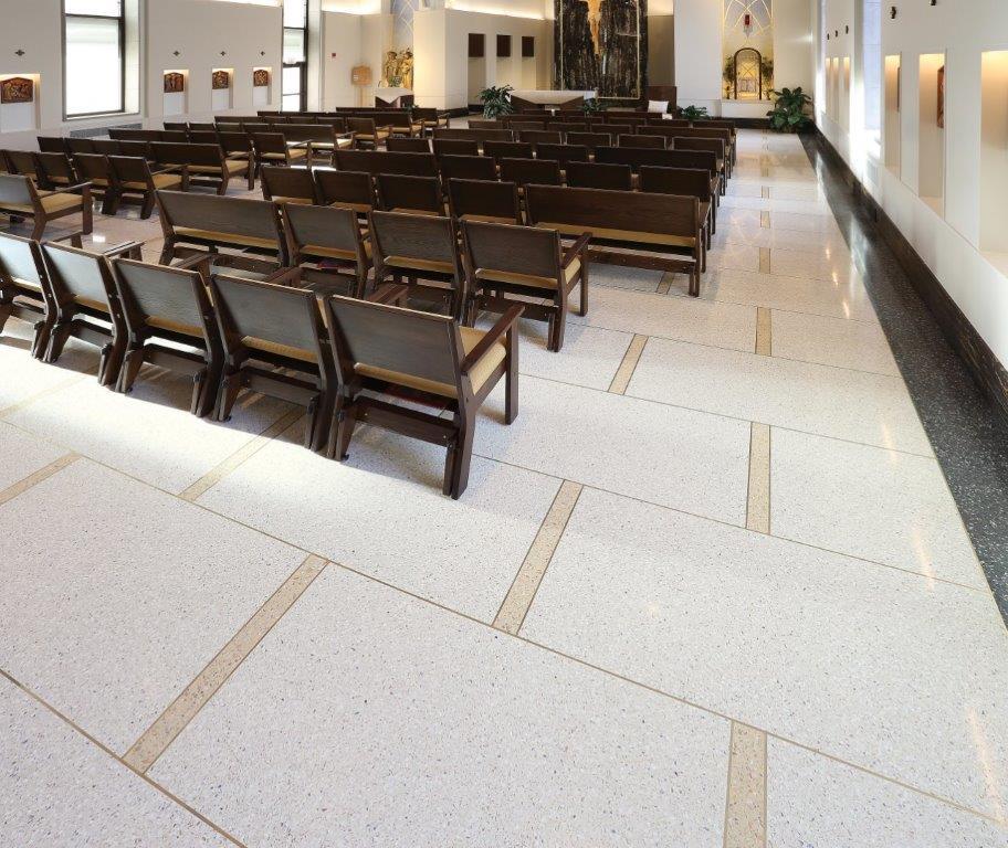 Amici Terrazzo Flooring Projects